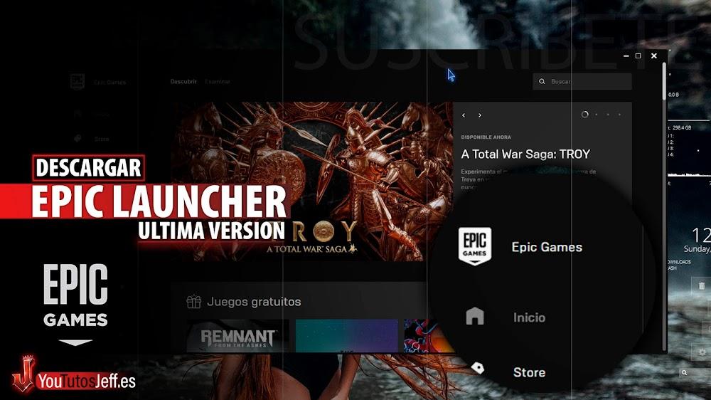Como Descargar Epic Games Launcher Ultima Versión para PC