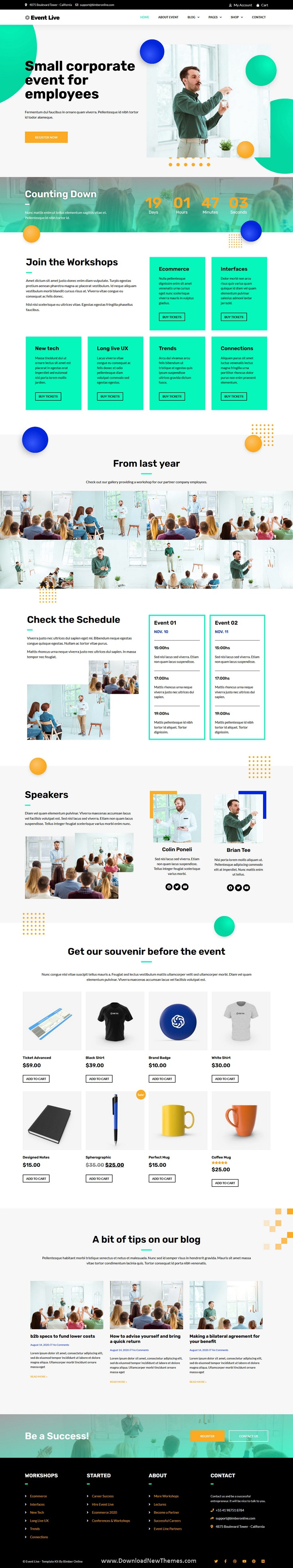 Small Conference & Event Template Kit