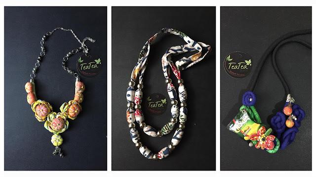Pilihan kalung batik cantik dari teatea batik