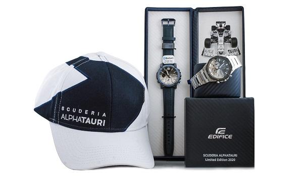 Casio Edifice Scuderia AlphaTauri de Fórmula 1