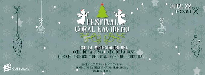 Festival Coral Navideño - 22 de diciembre