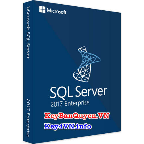 Mua bán key bản quyền SQL Server 2017 Enterprise 64 Bit.