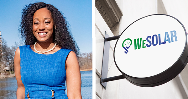 Kristal Hansley, founder and CEO of WeSolar
