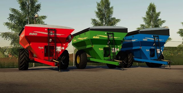 FS19 Demco Posi Flow grain cart Final v1.1