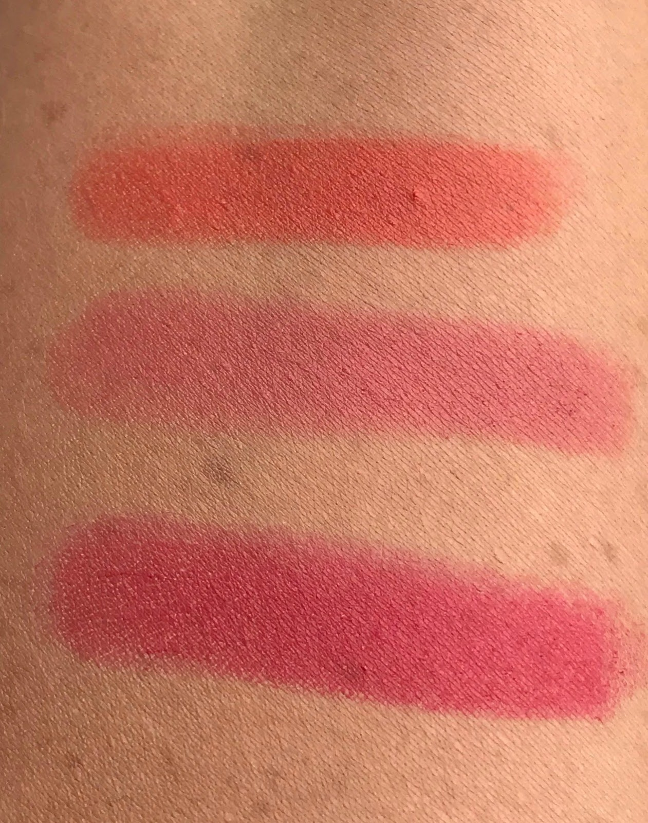 Antipodes Moisture Boost Natural Lipsticks  Swatches