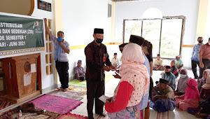 Baznas Kobi Salurkan Konsumtif Dana ZIS Kepada Fakir Misikin dan Honorer