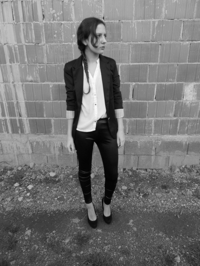 valentina batrac,fashion with valentina,fashion bloggers,spring outfit,black&white outfit