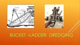 bucket ladder dredging equipment