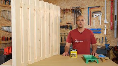 Cómo proteger valla de madera para exterior. http://www.enredandonogaraxe.com