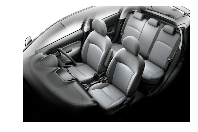 2021 Mitsubishi Mirage interior