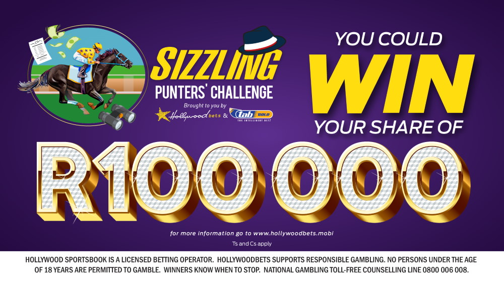 Sizzling Punters' Challenge - You could win your share of R100 000