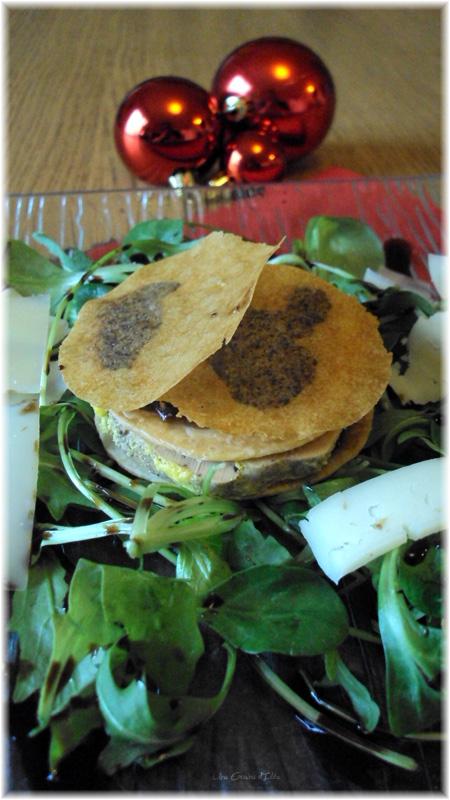 recette entr e de no l croustillant de foie gras une graine d 39 id e. Black Bedroom Furniture Sets. Home Design Ideas