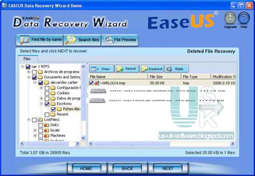 easeus data recovery software free download full version key