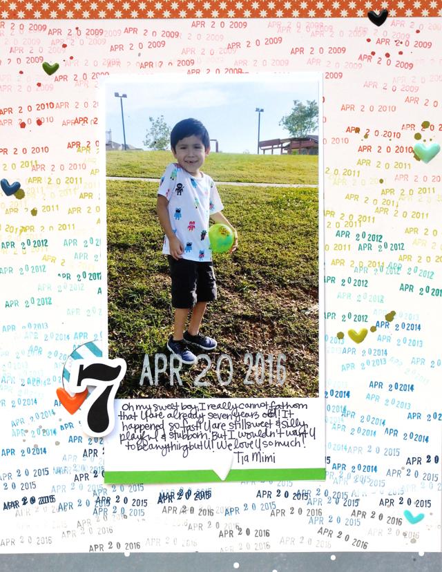 Jamie Leija Neon Birthday Card: Jamie Leija: Seven