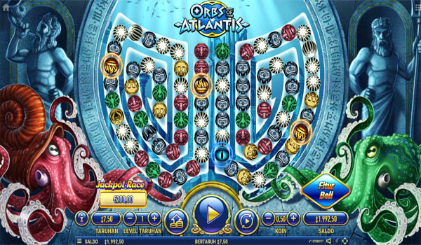 Main Gratis Slot Indonesia - Orbs of Atlantis Habanero