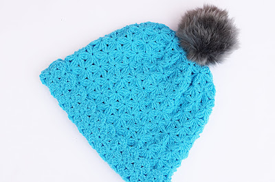 1 - Crochet Imagenes Gorro de lana a crochet con pompom por Majovel Crochet