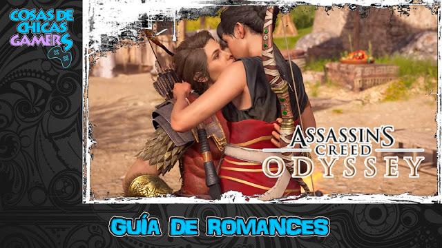 Guia de romances en Assassin's Creed Odyssey - Consigue todos los romances del juego