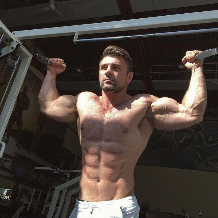 handsome-hairy-beefy-russian-shirtless-muscle-bodybuilder-daddy-gym-workout