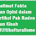 Kalimat Fakta dan Opini dalam Artikel Pak Raden dan Kisah MUltikulturalisme