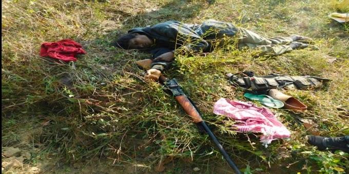 आठ लाख की ईनामी महिला नक्सली शारदा को बालाघाट पुलिस ने मार गिराया