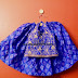 Sky Blue Pochampally Lehenga