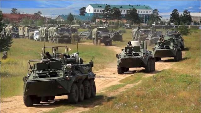 Rusia Gelar Latihan Militer Terbesar Sejak Perang Dingin
