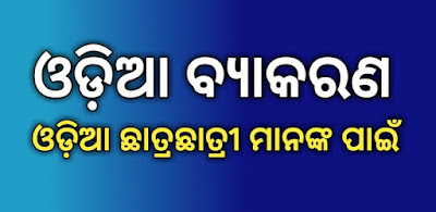 Odia Grammar For B.ed Entrance Examinations PDF