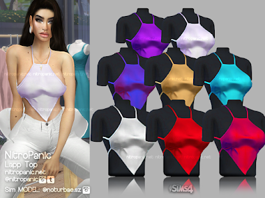 Lapp Top for The Sims 4