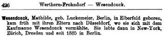 Lexikon deutscher Frauen der Feder. Berlin 1898, S. 426