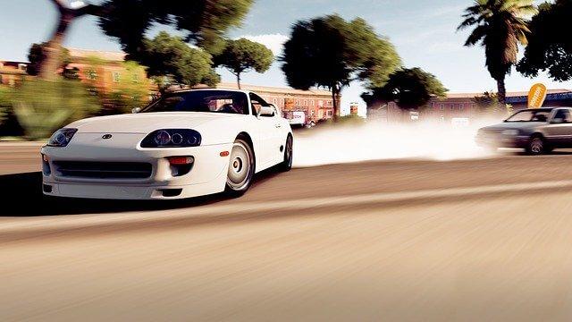 Supra A80 Drifting