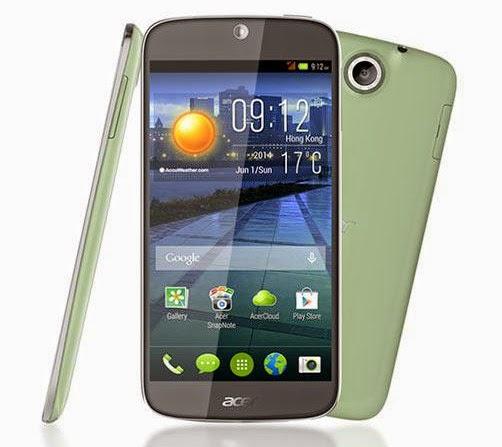harga hp Acer Liquid Jade dengan processor quad core