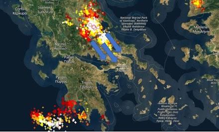 Ισχυρές καταιγίδες τις επόμενες ώρες στην Αττική