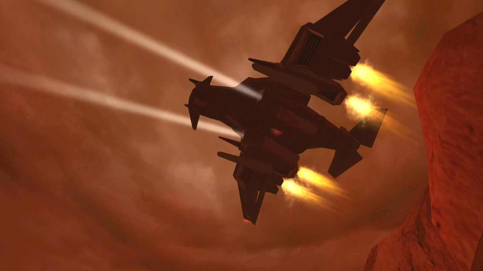 Mars game - Chaser screenshot