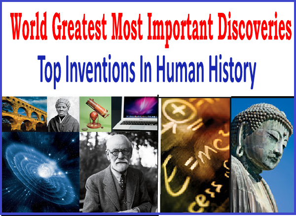 world discoveries and inventions