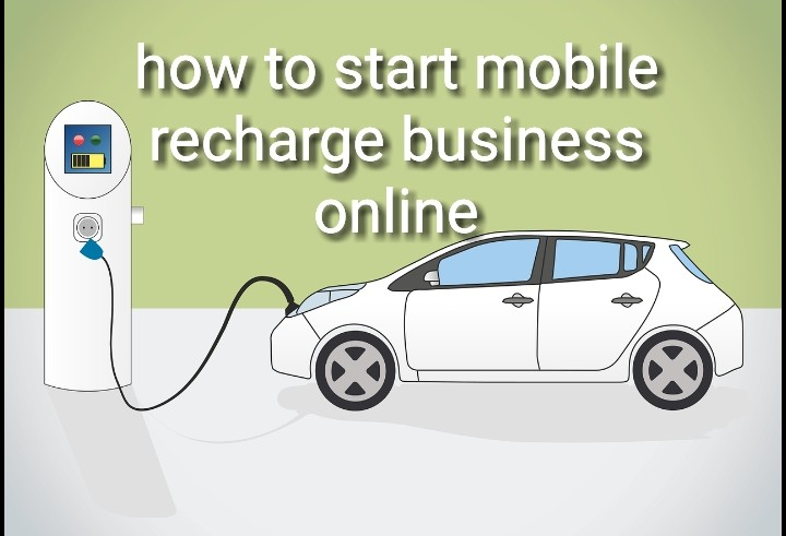 how to start mobile recharge business online