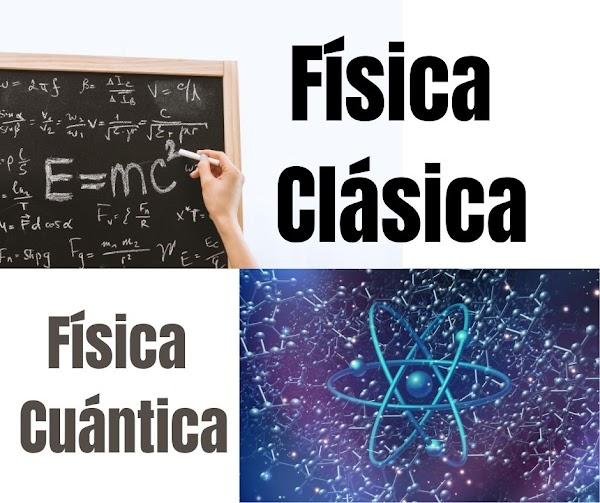▷ Diferencias entre la Física clásica y la Teoría Cuántica ⛔