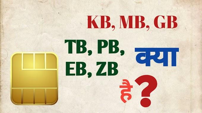 Byte Guide In Hindi : स्टोरेज का ज्ञान