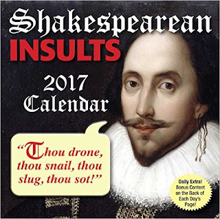 Shakespearean Insults 2017 Day-To-Day Calendar PDF