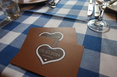 Menükarten, Trachtenhochzeit in den Bergen von Bayern, Riessersee Hotel Garmisch-Partenkirchen, Wedding in Bavaria
