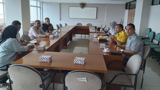 Soal Izin Tempat Hiburan, DPRD Kota Padang Datangi Suku Dinas Parbud Jakut