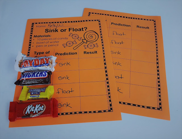 Does Halloween Candy Sink or Float?