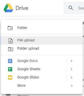 cara menggunakan google drive iphone