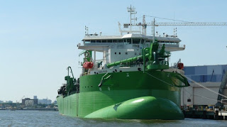 """""""Slow steaming"""" is one simple way to cut emissions from ships (Picture Credit: Flickr/tamrouti) Click to Enlarge."""