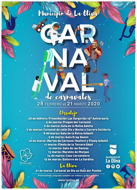 Carnaval%2BLa%2BOliva - Fuerteventura.- Carnaval de La Oliva contará con El Jeffrey en el Carnaval de Día de Corralejo, y con  antiguas dinamizadoras culturales como pregoneras