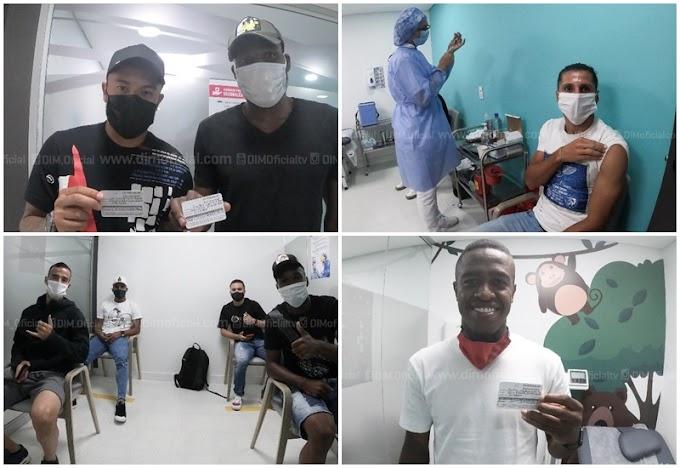 Generosidad con el FPC: Independiente Medellín, el primer equipo que se vacunó contra el COVID-19, gracias a biológicos donados por DEPORTES TOLIMA