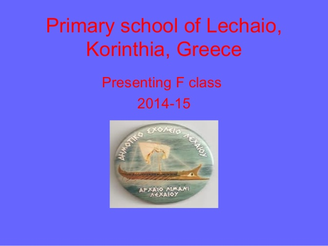 Etwinning 2015-16:6th grade project