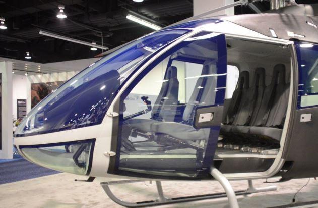 Swisshelicopter SKYe SH09 interior