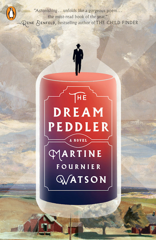 Interview with Martine Fournier Watson, author of The Dream Peddler