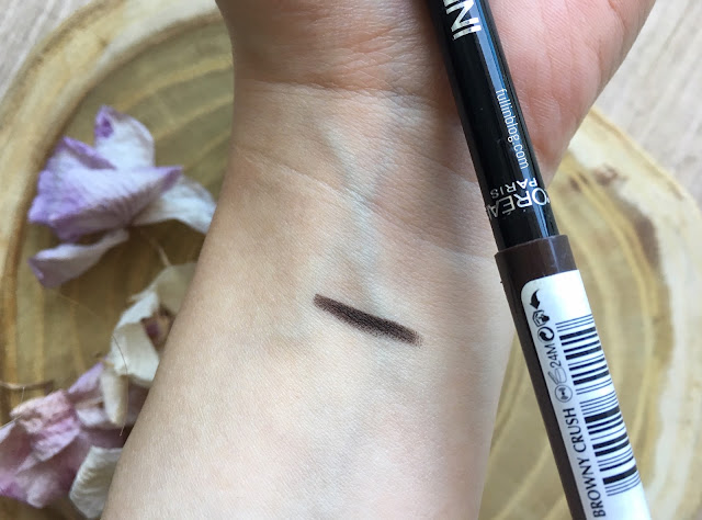 Loreal Paris Infaillible Gel Crayon 24H Browny Crush swatch