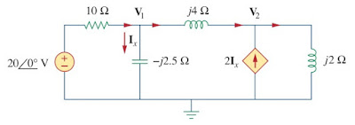 nodal analysis ac circuit